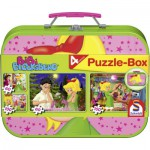 Puzzle  Schmidt-Spiele-55595 Bibi et Tina : Bibi et la licorne