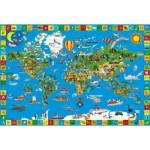 Puzzle  Schmidt-Spiele-56118 La terre de toutes les couleurs