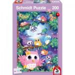 Puzzle  Schmidt-Spiele-56131 Forêt des Hiboux