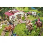 Puzzle  Schmidt-Spiele-56190 Balade dans la Campagne