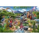 Puzzle  Schmidt-Spiele-56192 Dinosaures