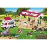 Puzzle  Schmidt-Spiele-56240 Ecole d'équitation et vétérinaire