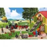 Puzzle  Schmidt-Spiele-56241 Animaux de la Ferme
