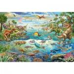Puzzle  Schmidt-Spiele-56253 Dinosaures