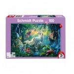 Puzzle  Schmidt-Spiele-56254 Au Pays des Créatures Mythiques