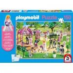 Puzzle  Schmidt-Spiele-56271 Playmobil - Mariage