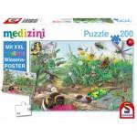 Puzzle  Schmidt-Spiele-56293 Entdecke die Welt der Insekten (en Allemand)