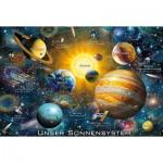 Puzzle  Schmidt-Spiele-56308 Unser Sonnensystem (en Allemand)