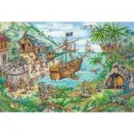 Puzzle  Schmidt-Spiele-56330 Bateau Pirate