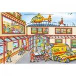 Puzzle  Schmidt-Spiele-56352 Hélicoptère de Sauvetage