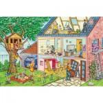 Puzzle  Schmidt-Spiele-56375 The Hardworking Craftsmen