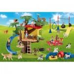 Puzzle  Schmidt-Spiele-56403 Farm World Happy Dogs