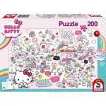 Puzzle  Schmidt-Spiele-56410 Le Monde de Kitty
