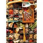 Puzzle  Schmidt-Spiele-58141 Pot-pourri culinaire