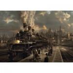 Puzzle  Schmidt-Spiele-58206 Locomotive