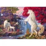 Puzzle  Schmidt-Spiele-58312 Triomphe des Licornes