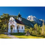 Puzzle  Schmidt-Spiele-58318 Chapelle du Wettersteinspitze