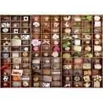 Puzzle  Schmidt-Spiele-58326 Trésors dans les Cases