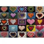 Puzzle  Schmidt-Spiele-58327 Coeurs pour Madalene