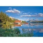 Puzzle  Schmidt-Spiele-58334 Un Week-end au Bord du Lac
