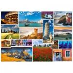 Puzzle  Schmidt-Spiele-58339 Passez des vacances en ... Italie