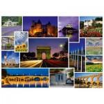 Puzzle  Schmidt-Spiele-58340 Passez des vacances en ... France
