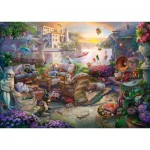 Puzzle  Schmidt-Spiele-58346 Terrasse Italienne