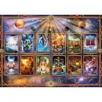 Puzzle  Schmidt-Spiele-58347 Signes du Zodiaque