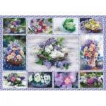 Puzzle  Schmidt-Spiele-58366 Bouquets de Fleurs