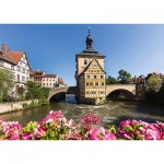 Puzzle  Schmidt-Spiele-58397 Bamberg, Regnitz and Veille Mairie