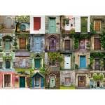 Puzzle  Schmidt-Spiele-58950 Collage - Portes