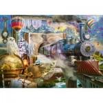 Puzzle  Schmidt-Spiele-58964 Le Voyage Magique