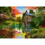 Puzzle  Schmidt-Spiele-58968 Le Moulin à Eau