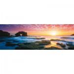 Puzzle  Schmidt-Spiele-59289 Mark Gray : Australie, Coucher de soleil sur Bridgwater Bay