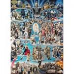 Puzzle  Schmidt-Spiele-59347 Renato Casaro - Hollywood XXL
