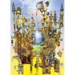 Puzzle  Schmidt-Spiele-59354 Colin Thompson, Château dans les Airs