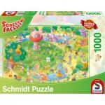 Puzzle  Schmidt-Spiele-59370 Sorgenfresser, Le Labyrinthe