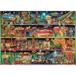 Puzzle  Schmidt-Spiele-59376 Aimee Stewart - Monde Merveilleux des Jouets