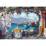 Puzzle  Schmidt-Spiele-59396 Sam Park - Rendez-vous à Mykonos