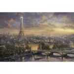 Puzzle  Schmidt-Spiele-59470 Thomas Kinkade:  Paris, Ville de l'Amour