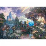 Puzzle  Schmidt-Spiele-59472 Thomas Kinkade - Cendrillon