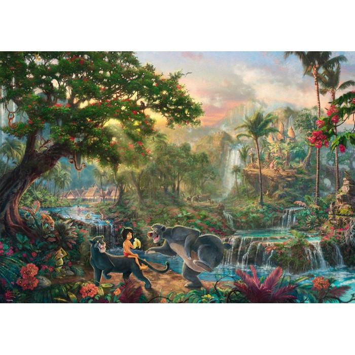 Thomas Kinkade - Le Livre de la Jungle