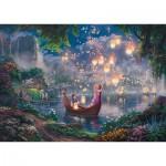 Puzzle  Schmidt-Spiele-59480 Thomas Kinkade - Disney Raiponce