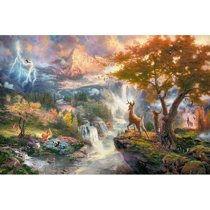 Thomas Kinkade - Disney, Bambi