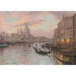 Puzzle  Schmidt-Spiele-59499 Thomas Kinkade - Dans les Rues de Venise