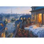 Puzzle  Schmidt-Spiele-59562 Evgeny Lushpin - Soirée à Paris