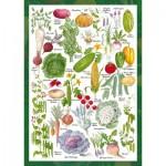 Puzzle  Schmidt-Spiele-59567 Countryside Art - Jardin Potager