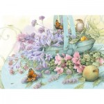 Puzzle  Schmidt-Spiele-59572 Panier de Fleurs