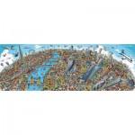 Puzzle  Schmidt-Spiele-59596 Paysage Urbain - Londres
