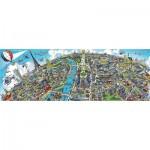 Puzzle  Schmidt-Spiele-59597 Paysage Urbain - Paris